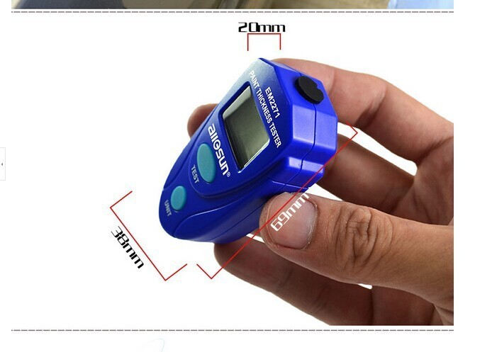 Прибор для измерения толщины лакокрасочного покрытия